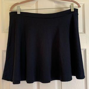 Navy Mini/Circle Skirt